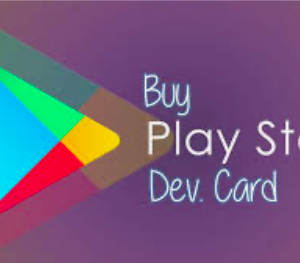 Google play developer card